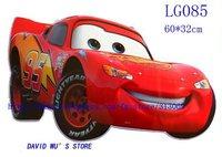 бесплатная доставка, 60*32 см, стикер стены, студии Pixar автомобилей мультфильм наклейки, микки, бен мальчик, томас поезд, shc068, оптовая продажа 20 шт./лот