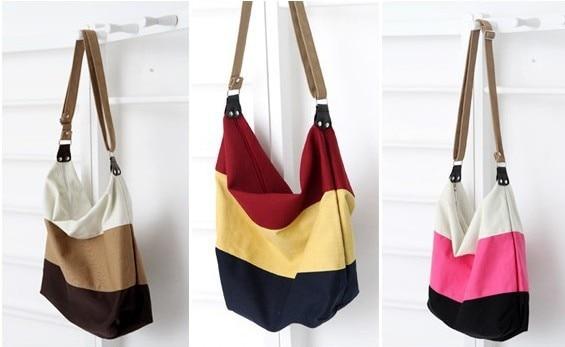 Aliexpress.com : Buy Teenagers Fashion Canvas Shoulder Bags Women ...