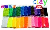 24 цвета жемчуг глина сейф своими руками мэджик глина сверхлегкий много - цветная глина грязи дети подарки 1000 шт/много
