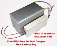 бесплатная доставка экологически чистая железа lit аккумулятор 24 в 10ah батареи с сумка, бмс, зарядное устройство