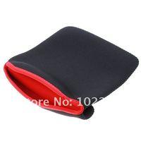 """7 """" 7.9 """" мягкий люкс ткань сумка крышка чехол для гугл нексус планшет iPad мини, черный - красный цвет, бесплатная доставка"""