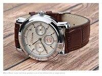 королевская яф кварцевый часы мужчины в роскошь верхний бренд известный дизайнер платье часы