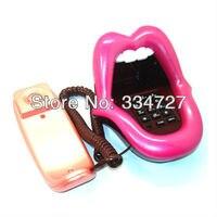 новинка язык растяжка сексуальное губы рот проводные домашнего ретро-телефон телефон
