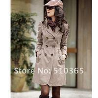 5 50 $ корейский зима двубортный отложным - вниз воротник пальто женщины 268lk