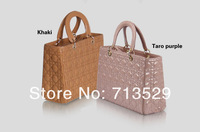 хиты! новый дамы мода искусственная кожа жесткий сумка для коммерческие дела, европейский и американский стиль сумки на молнии