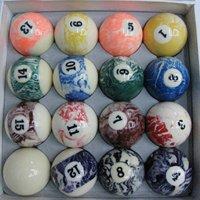 высокое качество полимерного материала бильярд мяч комплект бильярдный шар с упаковкой коробки подарка
