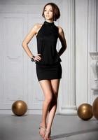 imixbox праздничная распродажа спинки сексуальная, маленькие вечерние платья, бесплатная доставка прямая поставка w1308