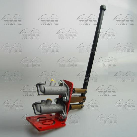 0.7 inch Dual Master Vertical Cylinder Hydraulic Drifting Handbrake Hand Brake E-brake DSC_0923