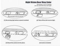 1/4 ПЗС качестве HD автомобиль обратное парковки камера для Шевроле Epica / лова / Авео / каптива / Авео / Лачетти широкий угловой 170