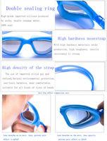 цельный силикон зеркало-покрытием подводный регулируемая плавать таращить глаза