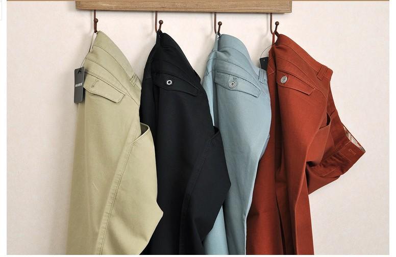 новый большой размер хлопок брюки мужчины тонкий камуфляж брюки-Cargo для человека мода свободного покроя длинные брюки tactic мужская одежда s544