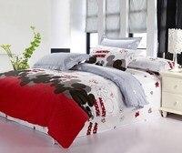 новое постулат бесплатная доставка торфа постельное белье, beddingset мультфильм