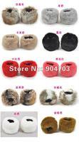 бесплатная доставка оптовая продажа 60 шт./лот искусственного меха зимой теплее рука браслет + женская мода рукав