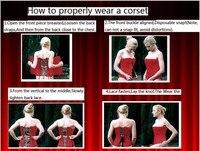 мини-группа красный корсет для похудения корсеты корсет с г - шнурок женщины сформулировать дамы тонкий бюстье 993
