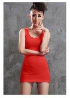 2015 летняя мода конвертировать высокое качество хлопок длинный тонкий тонкий я - в форме женская Gel топы майки