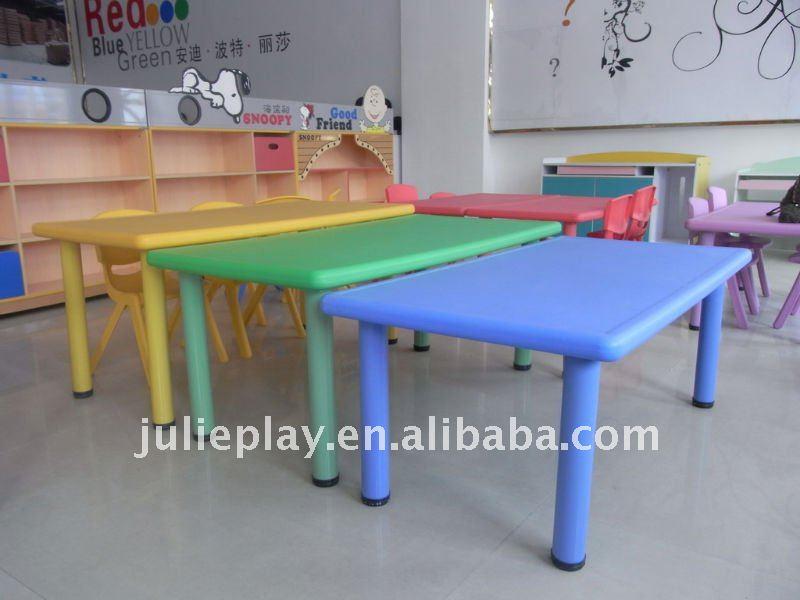 Kids Plastic Table Nursery Tables School Furniture In