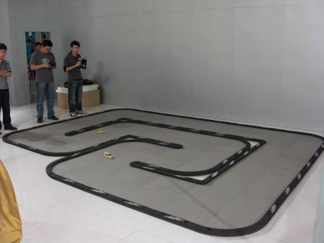 Aliexpress Com Buy Mini Rc Racing Track Made Of Eva Materials