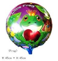50 шт./лот 18 дюймов круглая форма lagos воздушный шар, алюминий Волга воздушные акций, ну watering украшения