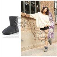 бесплатная доставка женские сапоги / зимние ботинки кожаные ботинки снега