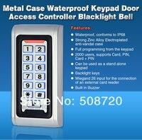 дверь контроля доступа контроллер водонепроницаемый ip68 в металлический корпус и RFID-считыватель клавиатура / К1