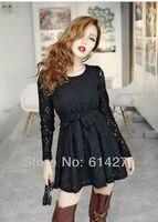 ВФ-0285 с длинным рукавом kruger платье с задней Mania цвет