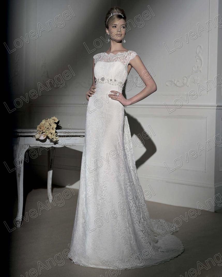 elegant lace wedding dress elegant wedding dresses Aliexpress Com Besting Elegant Lace Wedding Gown Free