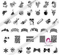 498 конструкций м серия дизайн ногтей большой большой шаблон размеры дизайн ногтей штамп изображения table * 1 шт. м3 + 1 шт. М4 *-бесплатная доставка