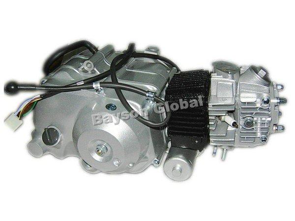 loncin 110cc 4 Takt motor mit automatikgetriebe, elektrische sterne ...