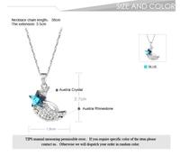 бесплатная доставка модный цветочный сделано с элементами Сваровски звезда кристалл line ожерелье ювелирные изделия подвески свадебные украшения