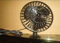 2015 новый 12 в русская мини автомобильный вентилятор тележки автомобиля автомобиль охлаждения холодный воздух вентилятор с черный присоски gqc29