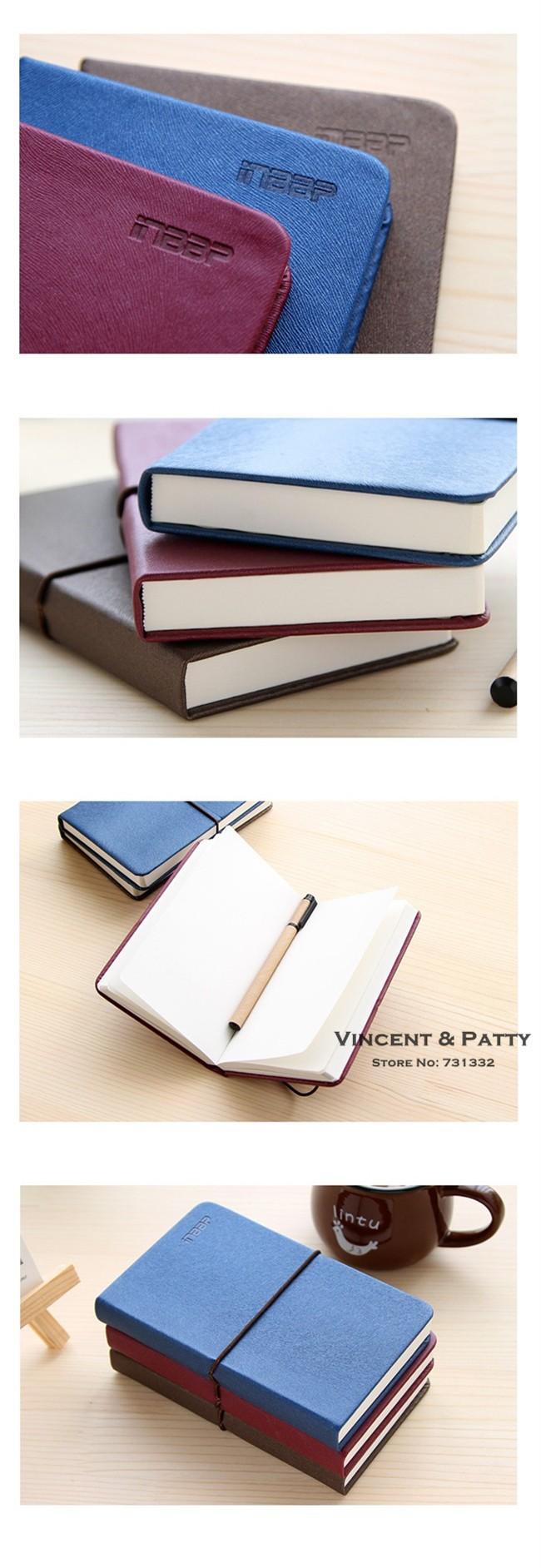 3 шт./лот винтаж кожа ноутбук эластичный шнурок высокое качество в сторону фиолетовый сап книжка для журнала pest дня школьные принадлежности 6617
