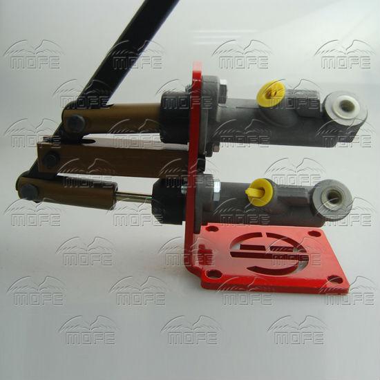0.7 inch Dual Master Vertical Cylinder Hydraulic Drifting Handbrake Hand Brake E-brake DSC_0927