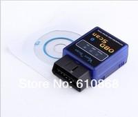 бесплатная доставка авто ОБД 2 elm327 в диагностический инструмент интерфейс связи Bluetooth авто сканер obdii для b06