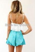 новый топ кружево цветочные вязание крючком сексуальная женские блузки - большой размер камзол майки женщин одежда blusa регата покроя feminina