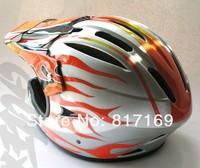 размер л 55 ~ 58 см для взрослых АБС, ева мужчины движения спорт шлем профессиональный горный ЦТ горные шлем fflame на g400