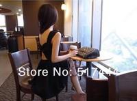 новинка спагетти повелительницы о-образным закрытие шеи сплошной сексуальное платье hdwl-001