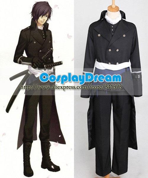 hakuouki_shinsengumi_kitan_sait_hajime_cosplay_costume.jpg. Hot Sale! Hakuouki  Shinsengumi Kitan Saito Hajime Cosplay Costume Custom made Halloween ...