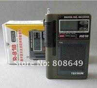 новый tecsun р-818 ФМ/св/мвт цифровой дисплей многофункциональный часы группа Прима