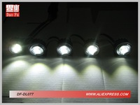 поделки 5 из светодиодов ДРЛ ДФ-dl077 фликер белый желтый