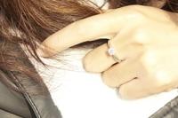 100% из натуральной 925 платины покрытием швейцарский бриллиантовое обручальное кольцо ювелирных украшений gr011