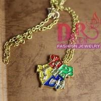 оптовая продажа для гарри поттер хогвартс школа ожерелье кулон dmv046