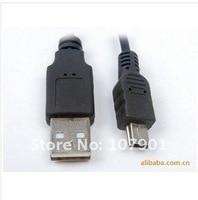USB кабель 5pin кабель для MP3 и mp4, мини УСБ кабель 50 шт./лот бесплатная доставка
