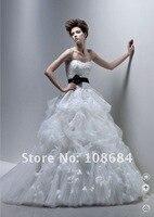 оптовая продажа горячая распродажа! новый белый / ИЖ Elegant Уэйд Уэйд платье платье на размер