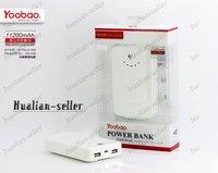 портативное зарядное устройство Yoobao великий поход зарядное устройство для iPhone 4 и 4S, для iPad 2 и 3, для мобильного телефона mp3 формате mp4, 11200 мА как YB-642 аккумулятор заказать 3 шт./лот