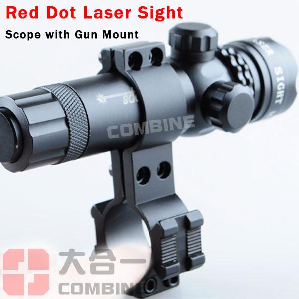 красная точка лазерный прицел пушки винтовки сфера ж / железнодорожных и ствола крепления крышки датчик давления