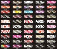 reeshipping - блеск блестящий шалунья стиль наклейки новая фольги ногтей патч искусства товара артикул : b0003
