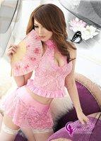 новое постулат женское белье 3 шт. Seal розовый белье платье + юбка бесплатная доставка