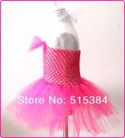 цветочные платья пачка для детской новый дизайны жевательная резинка 1 слой тюля с большим бантом 1 шт. бесплатная доставка