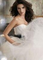 а 650-линия талии пышная юбка тюль черный створки свадебное платье