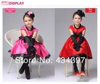 новинка платье девушка ну вечеринку рождество красный принцесса формальные кружевное платье 1 шт. бесплатная доставка qz020